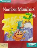 Number Munchers Apple II Front Cover