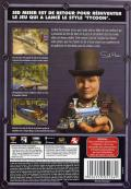 Sid Meier's Railroads! Windows Back Cover