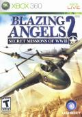 Blazing Angels 2: Secret Missions of WWII Xbox 360 Front Cover