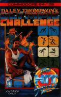 Daley Thompson's Olympic Challenge Commodore 64 Front Cover