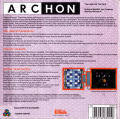 Archon: The Light and the Dark PC Booter Back Cover