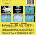 Space Racer DOS Back Cover