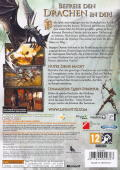 Divinity II: Ego Draconis Xbox 360 Back Cover