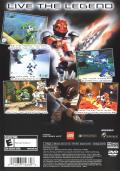 Bionicle PlayStation 2 Back Cover