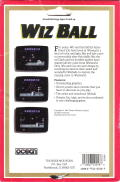 Wizball DOS Back Cover