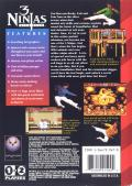 3 Ninjas Kick Back Genesis Back Cover