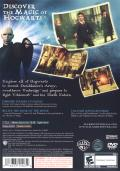 Harry Potter and the Order of the Phoenix PlayStation 2 Back Cover