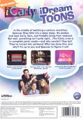 iCarly: iDream in Toons Windows Back Cover