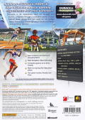 Summer Athletics 2009 Xbox 360 Back Cover