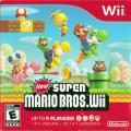 New Super Mario Bros. Wii Wii Other Sleeve - Front
