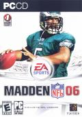 Madden NFL 06 Windows Front Cover