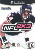 NFL 2K3 GameCube Front Cover