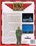 Wings of Fury Commodore 64 Back Cover