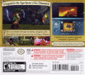 The Legend of Zelda: Ocarina of Time 3D Nintendo 3DS Back Cover
