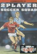 2 Player Soccer Squad Commodore 64 Front Cover