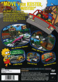 The Simpsons: Road Rage PlayStation 2 Back Cover