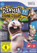 Rayman Raving Rabbids TV Party Wii Front Cover