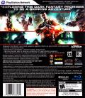 Wolfenstein PlayStation 3 Back Cover