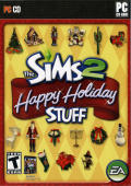 The Sims 2: Happy Holiday Stuff Windows Front Cover