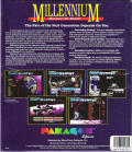 Millennium: Return to Earth  DOS Back Cover