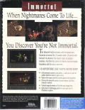 The Immortal DOS Back Cover