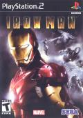 Iron Man PlayStation 2 Front Cover