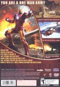 Iron Man PlayStation 2 Back Cover