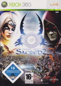 Sacred 2: Fallen Angel Xbox 360 Front Cover