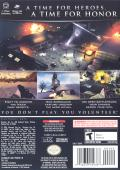 Medal of Honor: European Assault GameCube Back Cover