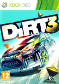 DiRT 3 Xbox 360 Front Cover