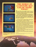 Colonial Conquest Commodore 64 Back Cover