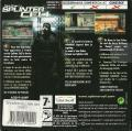 Tom Clancy's Splinter Cell Game Boy Advance Back Cover