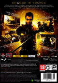 Deus Ex: Human Revolution Windows Back Cover