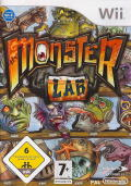 Monster Lab Wii Front Cover