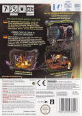 Monster Lab Wii Back Cover