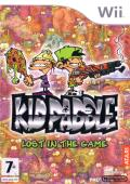 Kid Paddle: Lost in the Game Wii Front Cover
