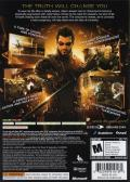 Deus Ex: Human Revolution Xbox 360 Other Keep Case - Back