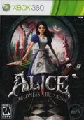 Alice: Madness Returns Xbox 360 Front Cover