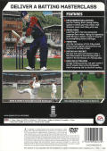 Cricket 07 PlayStation 2 Back Cover