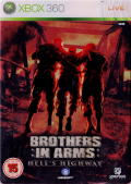 Brothers in Arms: Hell's Highway Xbox 360 Front Cover