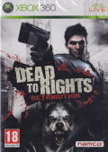 Dead to Rights: Retribution Xbox 360 Front Cover