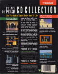 Prince of Persia CD Collection DOS Back Cover