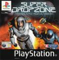 Super Dropzone: Intergalactic Rescue Mission PlayStation Front Cover