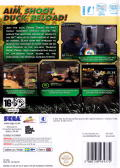 Ghost Squad Wii Back Cover