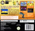 Pokémon Mystery Dungeon: Explorers of Darkness Nintendo DS Back Cover