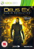 Deus Ex: Human Revolution (Limited Edition) Xbox 360 Front Cover