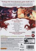 Dragon Age: Origins - Ultimate Edition Xbox 360 Back Cover
