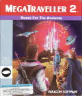 MegaTraveller 2: Quest for the Ancients DOS Front Cover