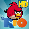 Angry Birds: Rio iPad Front Cover