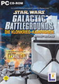 Star Wars: Galactic Battlegrounds - Clone Campaigns Windows Front Cover